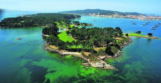 La isla de la toja sanxenxotur - La isla dela cartuja ...
